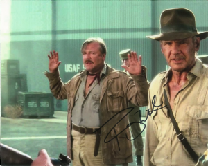 Ray Winston, 'Mac', Indiana Jones,  Genuine Autograph10x8  10582